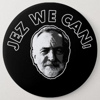 "Jeremy Corbyn ""Jez We Can"" Black badge"