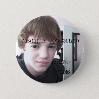 Jeremy Curtis 6 Cm Round Badge