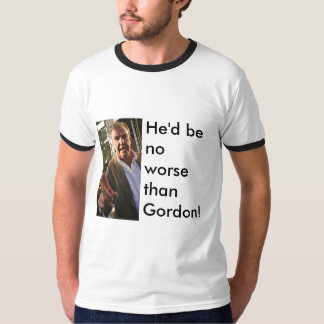 jeremyclarckson, He'd be no worse than Gordon! T-Shirt