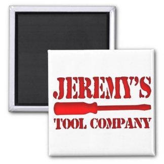 Jeremy's Tool Company Magnet