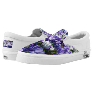Jericho's Houzz Crocus Blue Zip Sneakers