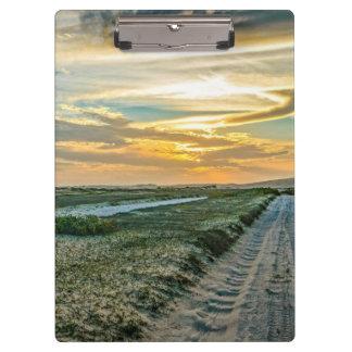 Jericoacoara National Park Dunes Road Clipboard