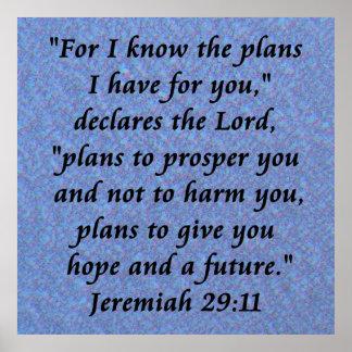 jermiah 29-11 poster