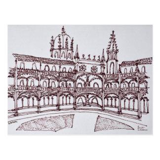 Jeronimos Monastery Cloister | Lisbon, Portugal Postcard