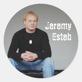 JERoundSticker Classic Round Sticker