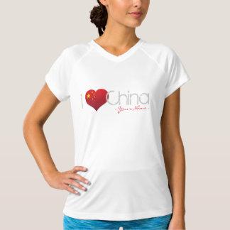 JERRILLA Design Custom Dry T-shirt I love China