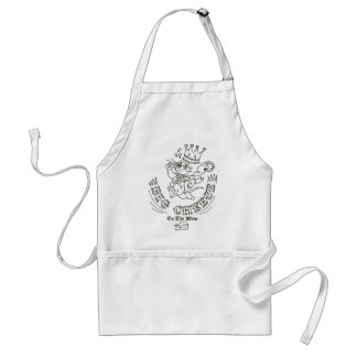 Jerry Big Cheese On The Moon 1 Standard Apron