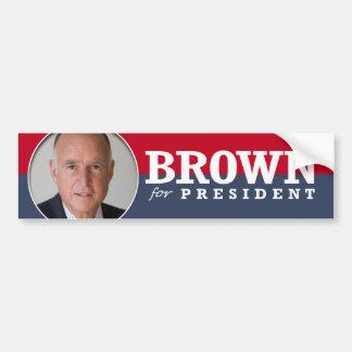 JERRY BROWN 2016 BUMPER STICKER