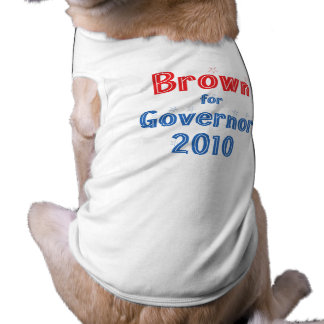 Jerry Brown for Governor 2010 Star Design Shirt