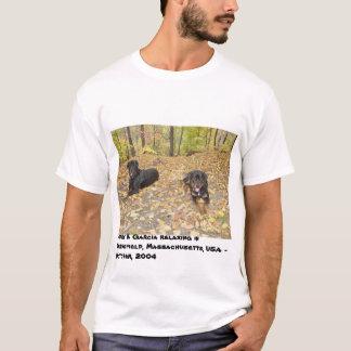 Jerry & Garcia Relaxing - Springfield, MA USA T-Shirt