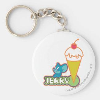 Jerry Ice Cream Key Chains