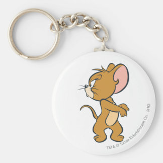 Jerry Looking Back Annoyed Key Ring