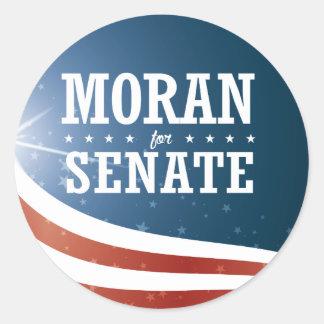 Jerry Moran 2016 Classic Round Sticker