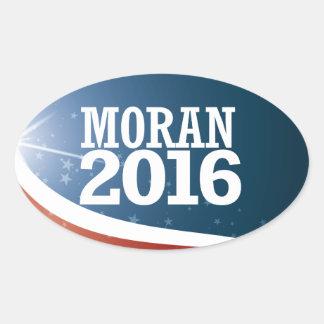 Jerry Moran 2016 Oval Sticker