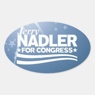 Jerry Nadler Oval Sticker