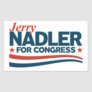 Jerry Nadler Rectangular Sticker