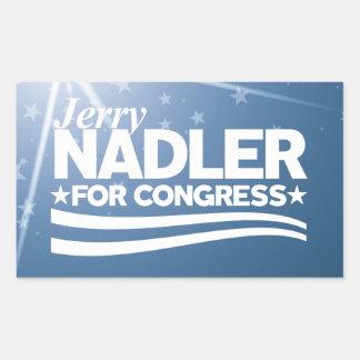 Jerry Nadler Rectangular Sticker