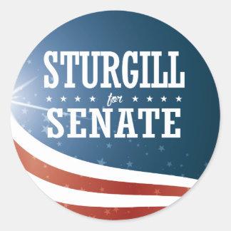 Jerry Sturgill 2016 Classic Round Sticker