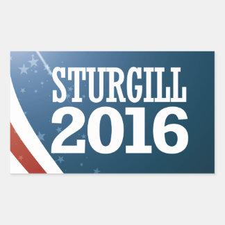 Jerry Sturgill 2016 Rectangular Sticker