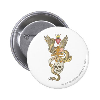 Jerry Twisted Tattoo 2 6 Cm Round Badge