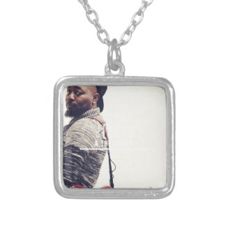 Jerryd Bass Guitar Silver Plated Necklace