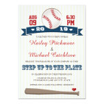 Jersey Baseball Themed Wedding Invitations 13 Cm X 18 Cm Invitation Card