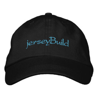 Jersey Build Embroidered Baseball Caps