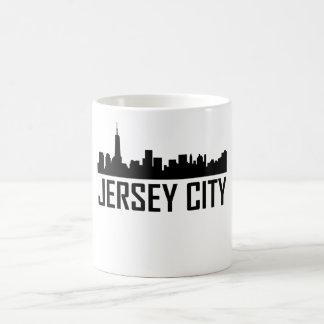 Jersey City New Jersey City Skyline Coffee Mug
