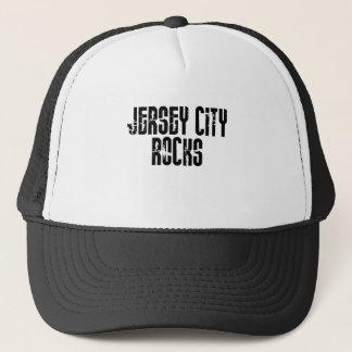 Jersey City New Jersey Rocks Trucker Hat