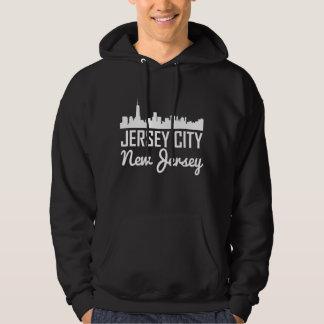 Jersey City New Jersey Skyline Hoodie