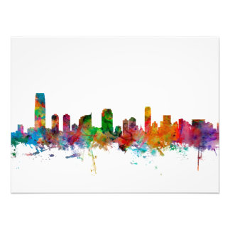 Jersey City New Jersey Skyline Photo