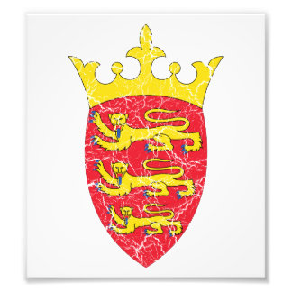 Jersey Coat Of Arms Photographic Print