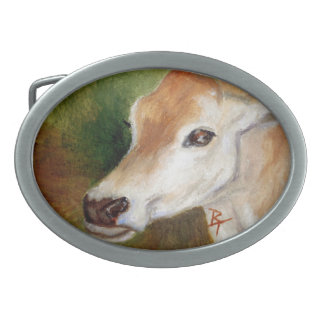Jersey Cow Belt Buckle