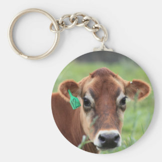 Jersey Cow Key Ring