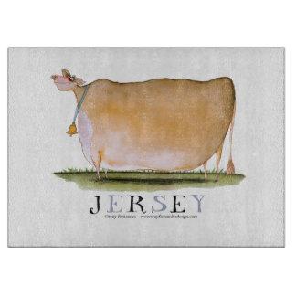 jersey cow, tony fernandes cutting board