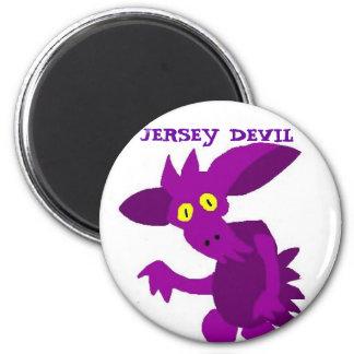 JERSEY DEVIL 6 CM ROUND MAGNET