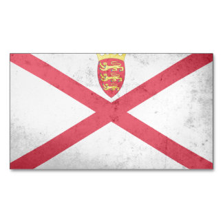 JERSEY Flag Magnetic Business Cards