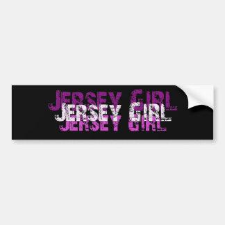 JERSEY GIRL gifts & greetings Bumper Sticker