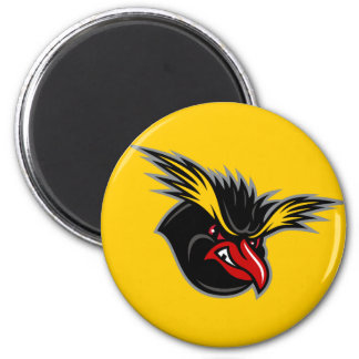"Jersey Penguins ""Angry Penguin"" Round Magnet"