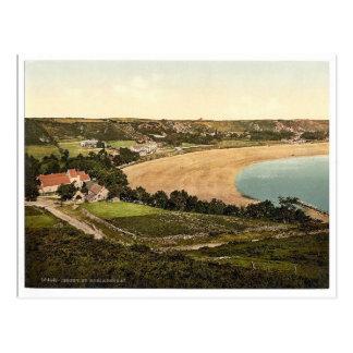 Jersey, Saint Brelades Bay, Channel Island, Englan Postcard