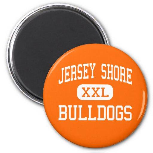 Jersey Shore - Bulldogs - Senior - Jersey Shore Fridge Magnets