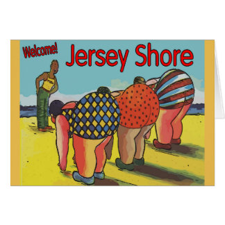 Jersey Shore Exercise Class Card