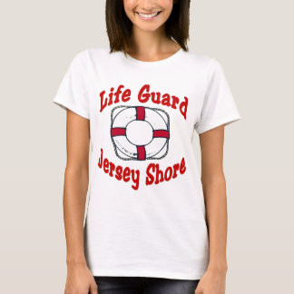 Jersey Shore Life Guard T-Shirt