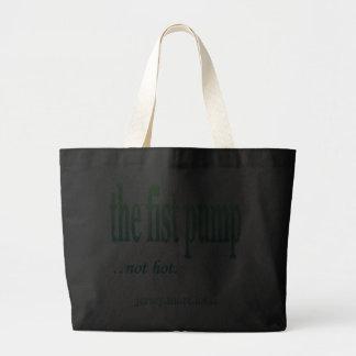 Jersey Shore Local Fist Pump Tote Bags