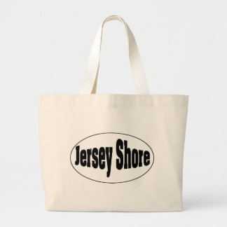 Jersey Shore Oval Jumbo Tote Bag