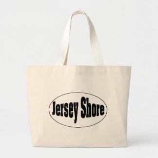 Jersey Shore Oval Jumbo Tote Bag