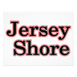 Jersey Shore Personalized Announcement