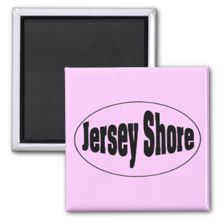 Jersey Shore Square Magnet