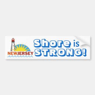 Jersey Shore Strong Bumper Sticker