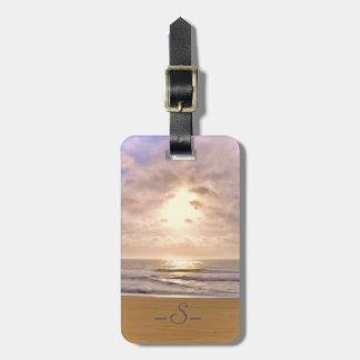 Jersey Shore Sunrise Luggage Tag